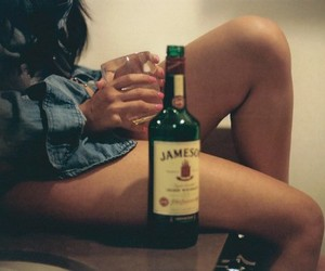 alcohol, couple, and sexy image