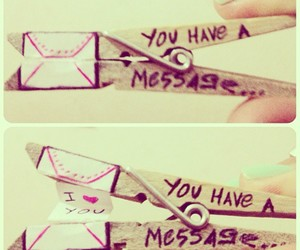 diy love letter message image