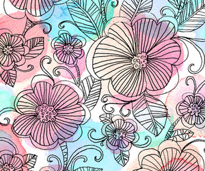 background and flowers image