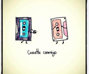 love, cassette, and me image