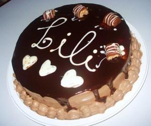 birthday, cake, and lili image