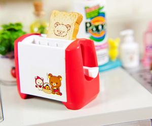 rilakkuma, cute, and toast image