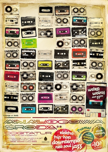 cassette and poster image