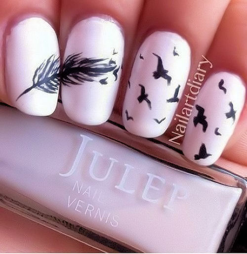 pastel pink nails with cute design - Pretty Nails!! :) 💅 / Pastel Pink Nails With Cute Design