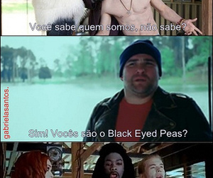 text and black eyed peas image