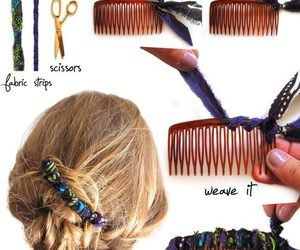 diy, hair, and Easy image
