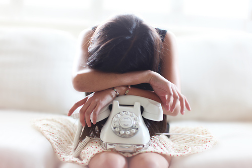 girl, photography, and telephone image