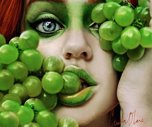 grapes, green, and fruit image