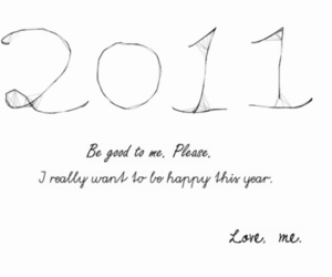 2011 and new year image