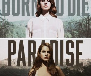 lana del rey, paradise, and born to die image
