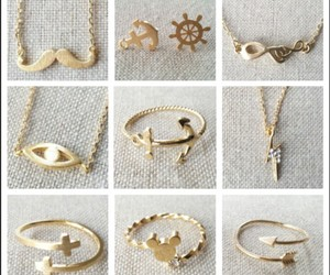 fashion, rings, and cute image