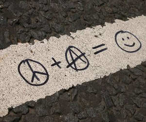 anarchy, happy, and peace image