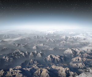 Alps, art, and beautiful image