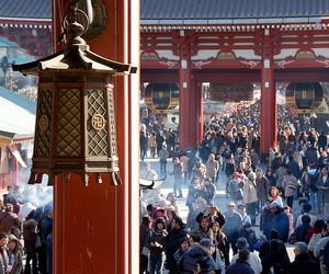 2008, asakusa, and japan image