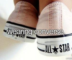 converse, shoes, and all star image