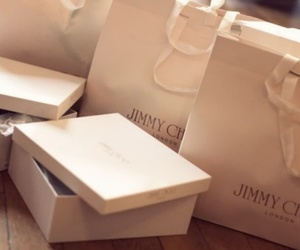 Jimmy Choo, shoes, and shopping image