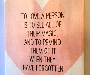 love, quote, and magic image