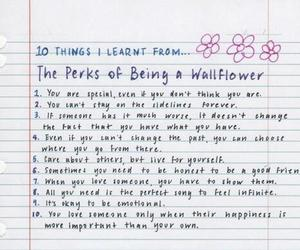 quotes, the perks of being a wallflower, and dubtrackfm image