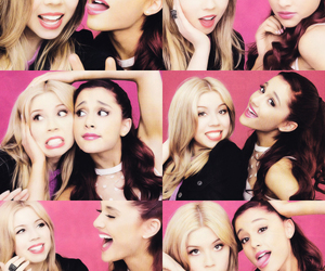 ariana grande, jennette mccurdy, and sam and cat image
