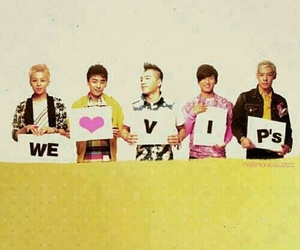bigbang, VIP, and big bang image
