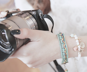 camera, fashion, and photography image