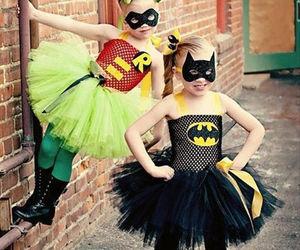 batman, girl, and princess image