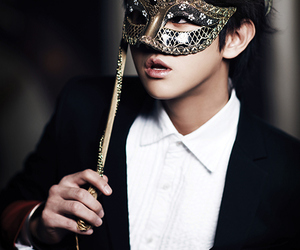beast, mask, and yoseob image