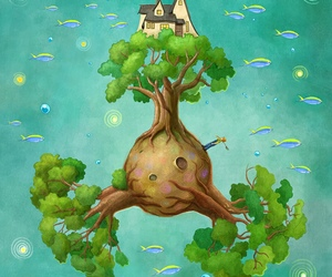 tree and love image
