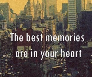 memories, heart, and quote image