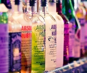 absolut vodka, alcohol, and drink image