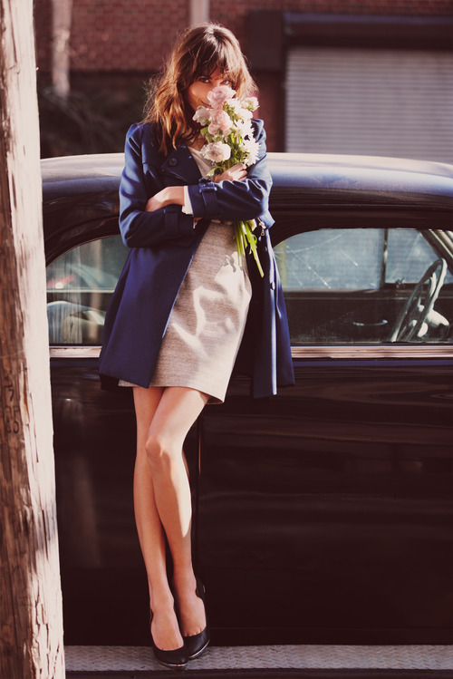 flowers, alexa chung, and model image