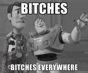 funny, toy story, and bitch image