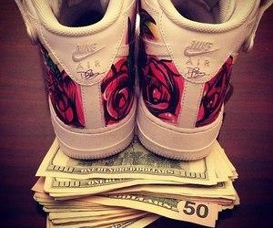 money and nike image
