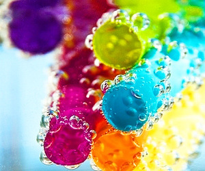 colorful, water, and colors image