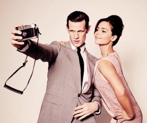 doctor who, matt smith, and couple image