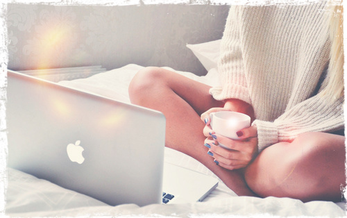 apple, coffee, and inspo image