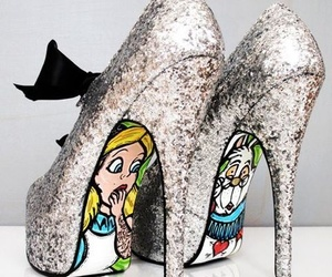 shoes, alice, and heels image