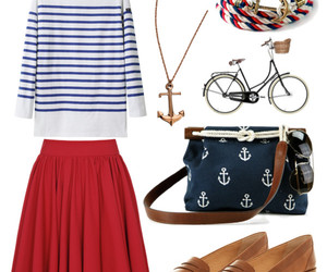 anchor, bicycle, and bracelet image