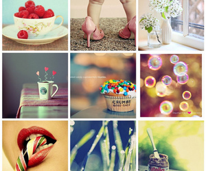 berries, nutella, and cute image
