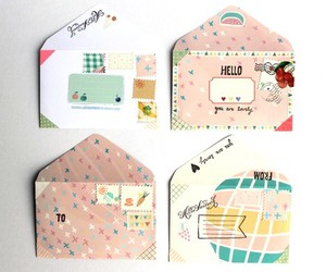 lovely, mail, and pink image