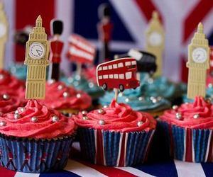 london, cupcake, and food image