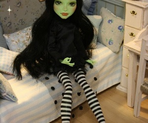 custom, monster high, and ooak image