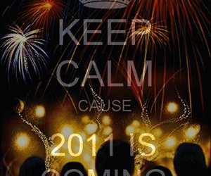 2011 and keep calm image