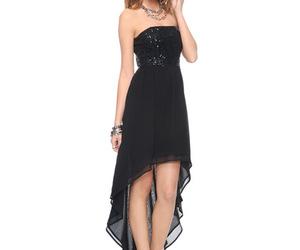 lindo, preto, and vestido image