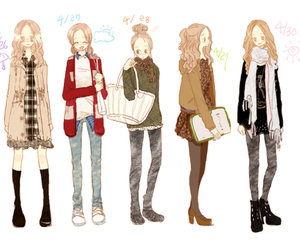 fashion, clothes, and cute image