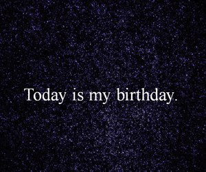 birthday, happy, and today image