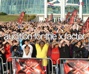 girl and x factor image