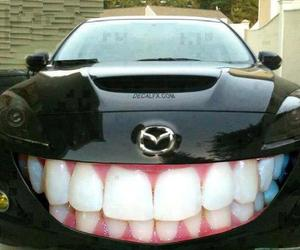 car, funny, and smile image
