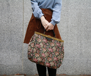 1970s, bag, and fashion image