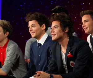 real, wax, and louis tomlinson image